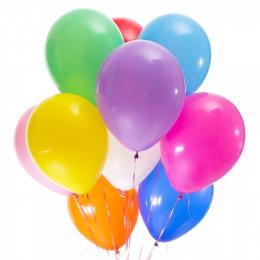 Латексные шары без рисунка (без обработки)