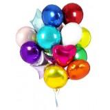 Фольгированные шары (КРУГ, СЕРДЦЕ, ЗВЕЗДА)