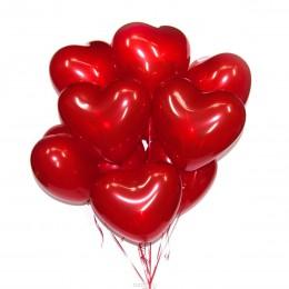 Латексные шары в форме сердца (без обработки)
