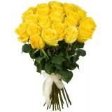 Букет 21 роза (пример-розы Мохана) 40см