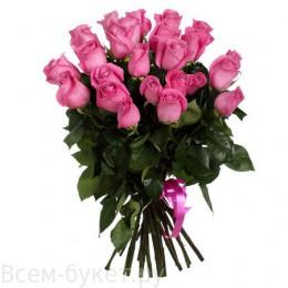 Букет 25 роз (пример-розы Пинк Флойд) 40см