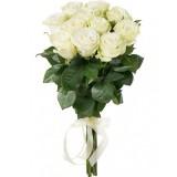 Букет 11 роз (пример-розы Аваланш)
