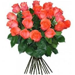 Букет 25 роз (пример-розы Вау)