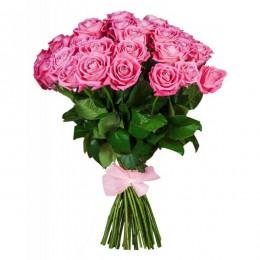 Букет 35 роз (пример-розы Аква)